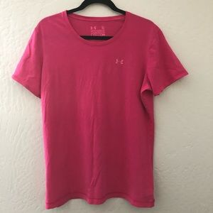 Under Armour Semi Fitted Cotton Tee